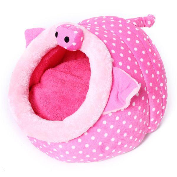 To make: Pig Shape Pet Bed