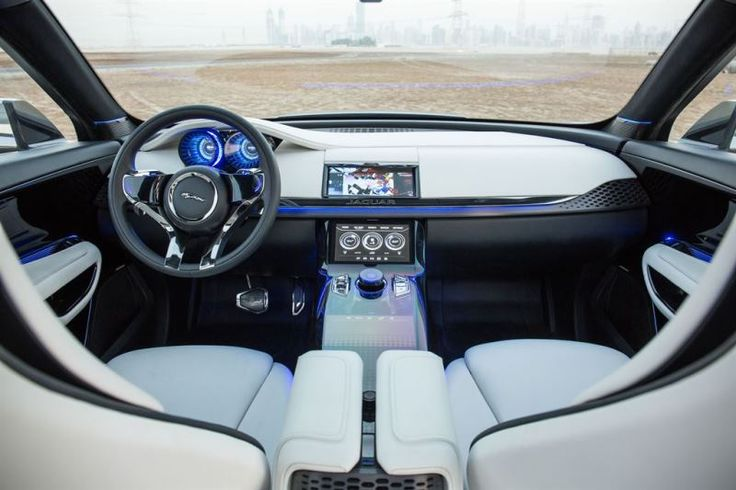 Newcarreport-2016 JAGUAR F-PACE SUV SHARES C-X17 Interior