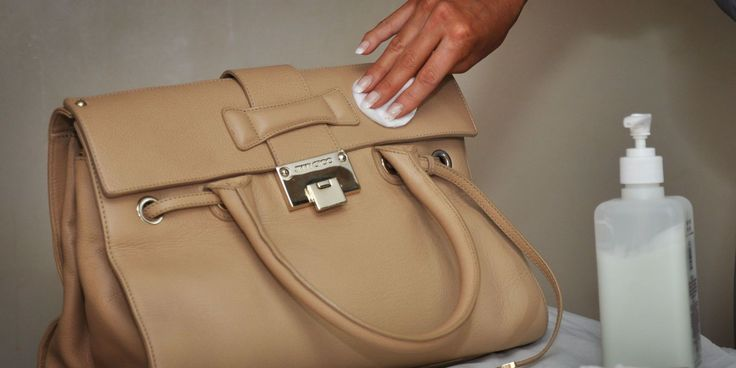 How to clean a leather handbag - No. 13 is something we never thought of!   #HandbagCleaning #leatherhandbags