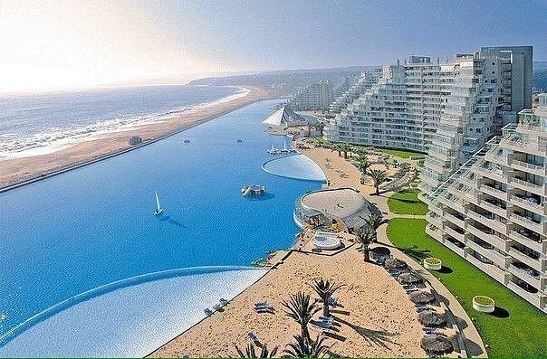 Самый большой бассейн в мире, Чили!