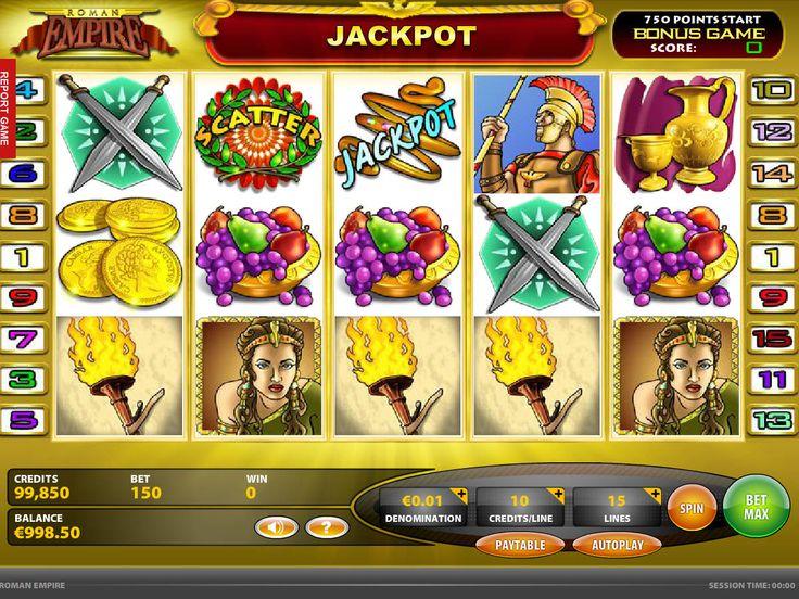 Habe jetzt Spaß bei unsere neusten kostenlos online Spielautomaten Spiel Roman Empire - http://spielautomaten7.com/roman-empire/