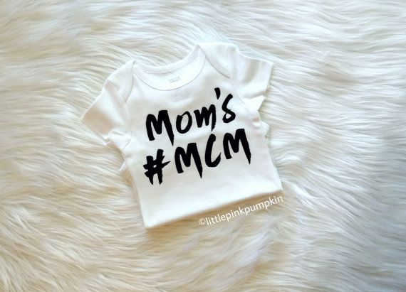 Baby Boy Clothes Mother and Son Mom's MCM by LittlePinkPumpkin