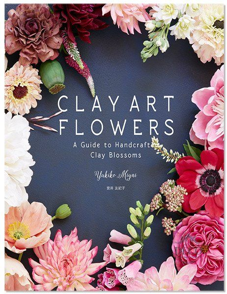 "For pre-orders, please send email to shop@decoclay.com with the subject ""Please reserve Clay Art Flowers - A Guide to Handcrafted Clay…"