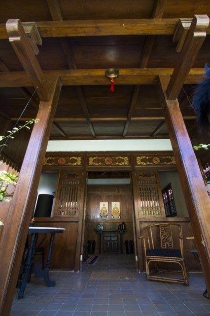 Chinese House Entrance in Roemah Peranakan Bali
