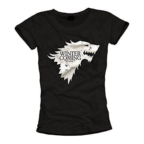 Winter Is Coming de Juego de Tronos inspirado Ladies T Shirt #camiseta #starwars #marvel #gift