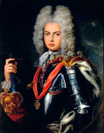 D. João V (1707) – Retrato de Pompeo Batoni (1708-1787). Palácio Nacional da Ajuda, Lisboa.  https://dotempodaoutrasenhora.blogspot.pt/2014/09/efemerides-de-outubro-nova-versao.html