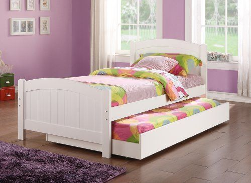 Trundle bed, for the girls room