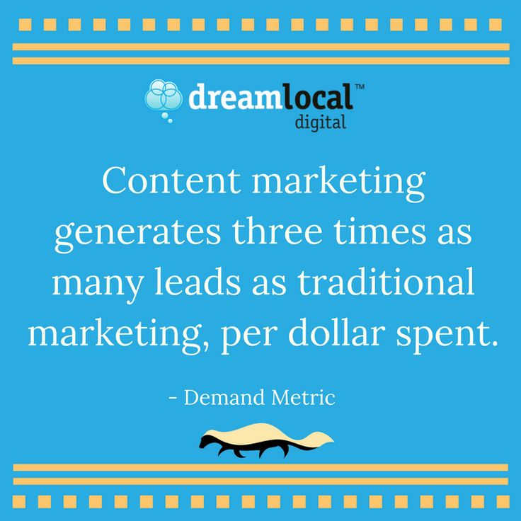 #MarketingMonday Get more bang for your buck. Call (207) 593-7665 or visit our website to learn more about content marketing. https://dreamlocal.com/business-marketing-solutions/content-marketing-native-blogs/#utm_sguid=151518,740816b0-a66b-4c7f-1cfa-96e8cf99170c