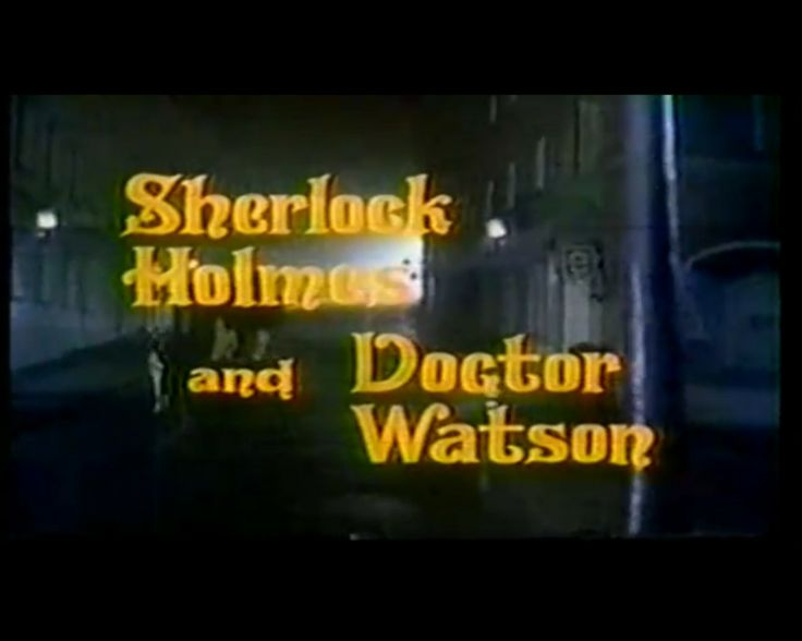 Sherlock Holmes and Doctor Watson starred Geoffrey Whitehead as Sherlock Holmes and Donald Pickering as Doctor Watson