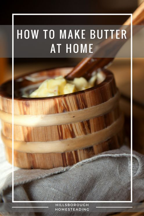 Make butter at home with your Kitchenaid Mixer | Hillsborough Homesteading
