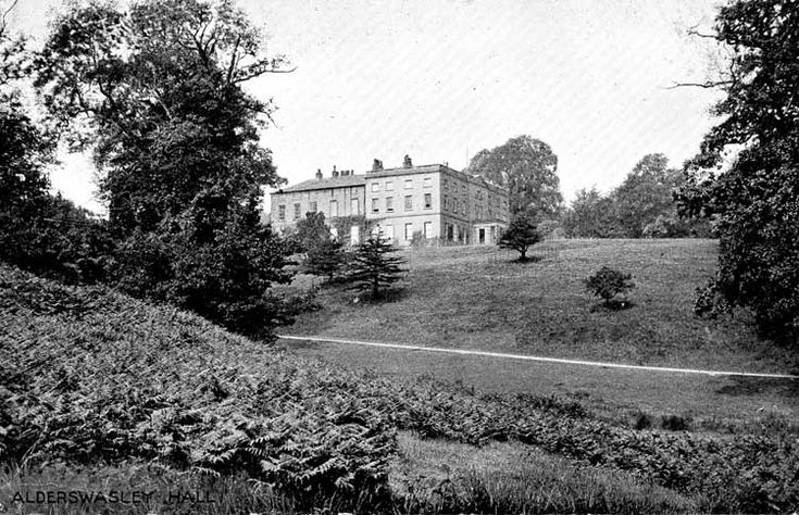 Alderwasley Hall English Manor of the Hurts. My grandfather was employed here for a couple of months 1919