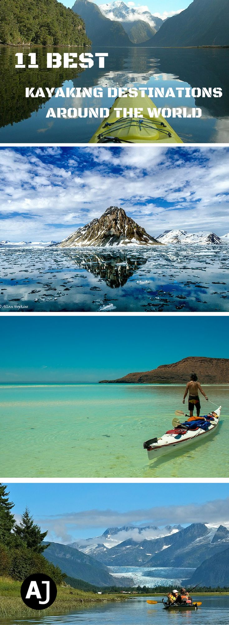 The Best Destinations Around The World For Kayaking Trips