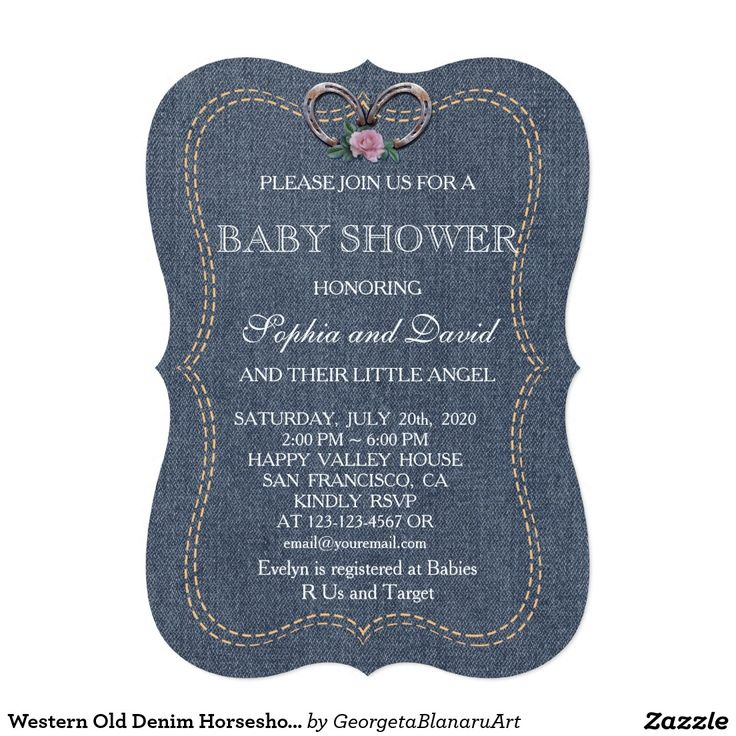 Best 25+ Denim baby shower ideas on Pinterest | Denim ...