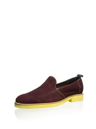 J. Artola Men's Hendrix Slip-On Loafer (Burgundy)