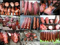 Making Sausage      Sausage Types      Sausages by Country      Sausage Recipes      Hams & Meats      Fish      Poultry & Game      Meat Smoking      Barbecue      Smoke Houses      Food Preserving    Smoking Meat