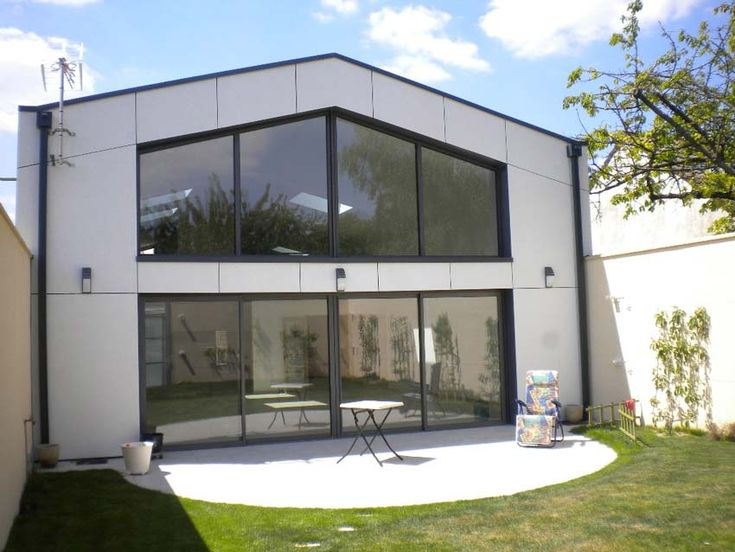 D coration extension container maison 78 bordeaux for Construire maison 78