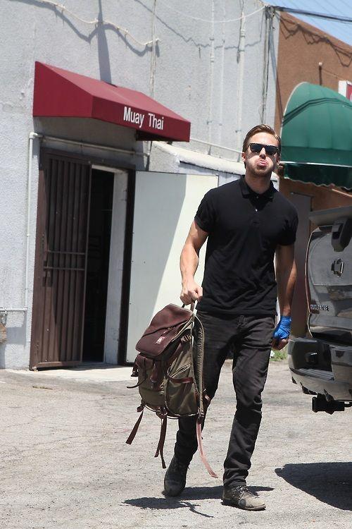 Polo + jeans + boots + bonus backpack