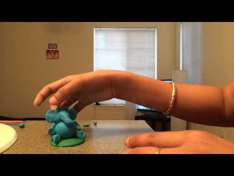 Learn To Make Colourful Ganesh Idol Using Super Dough - YouTube