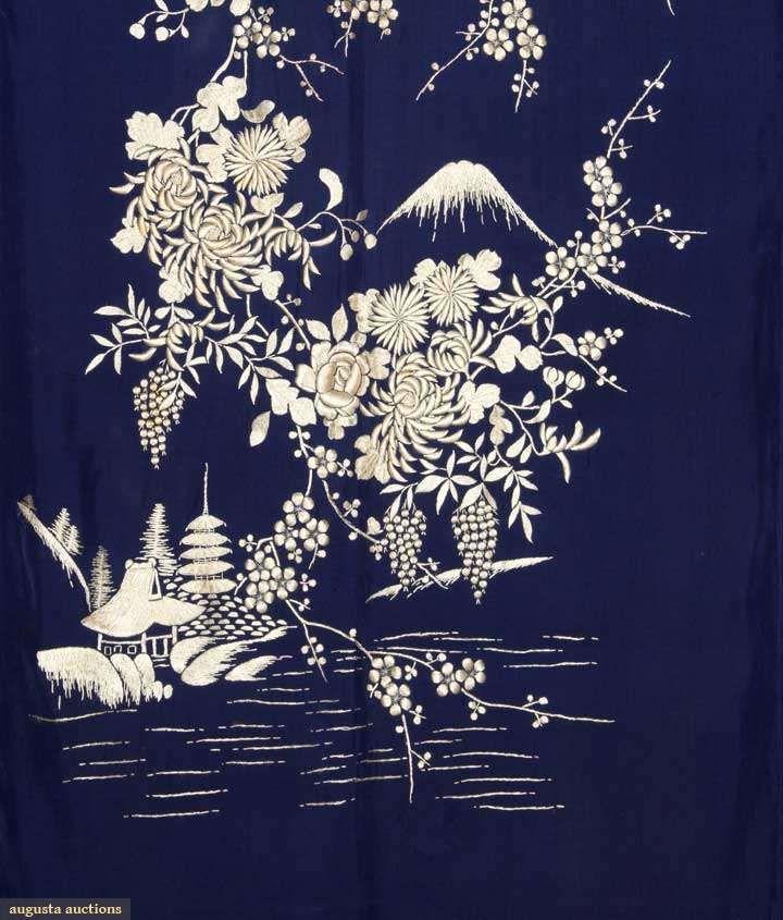 Kimono (image 3)   Japan   1930-1950   silk   Augusta Auctions   April 9, 2014/Lot 4