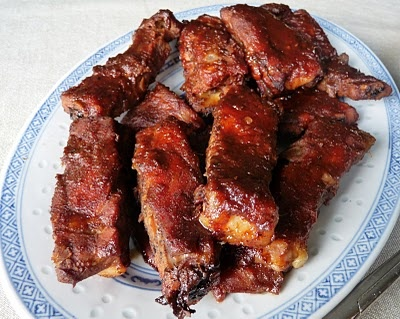 Char Siu Style Pork Ribs | Pork on your fork | Pinterest