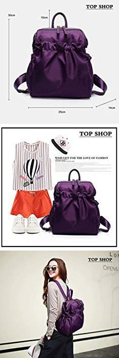 Mcm Tote Bag Sale. FTSUCQ Womens Fresh Preppy Backpack Travel Daypack Tote School Bags Shoulder Satchels (purple-1).  #mcm #tote #bag #sale #mcmtote #totebag #bagsale