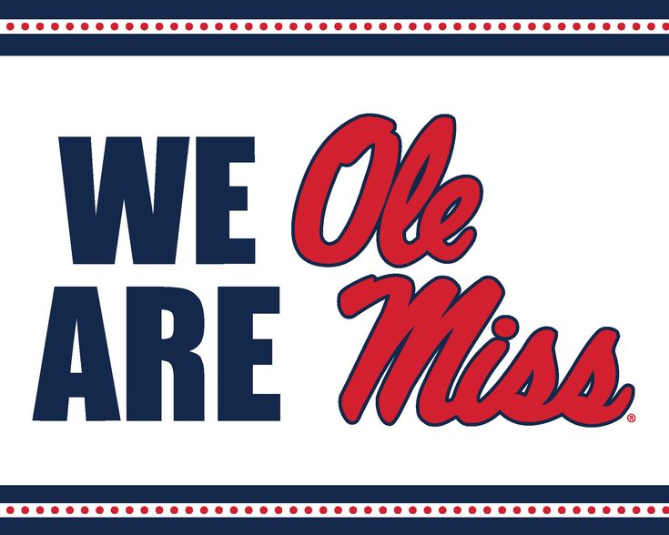 """New printables on the Ole Miss website are available. We are loving the new """"We Are Ole Miss"""" designs! Hotty toddy!"""