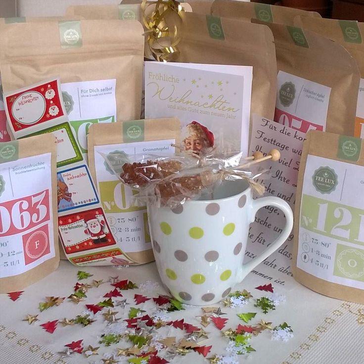 Zufriedene Kunden ist die beste Werbung!  #tee #teelux #wintertee #Weihnachtstee #teegeschenk  Foto by @diyannett
