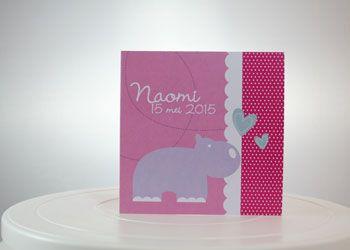 Geboortekaartje LC010 Nijlpaard