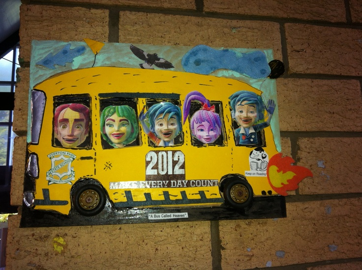 Inspired by A bus called heaven by Bob Graham