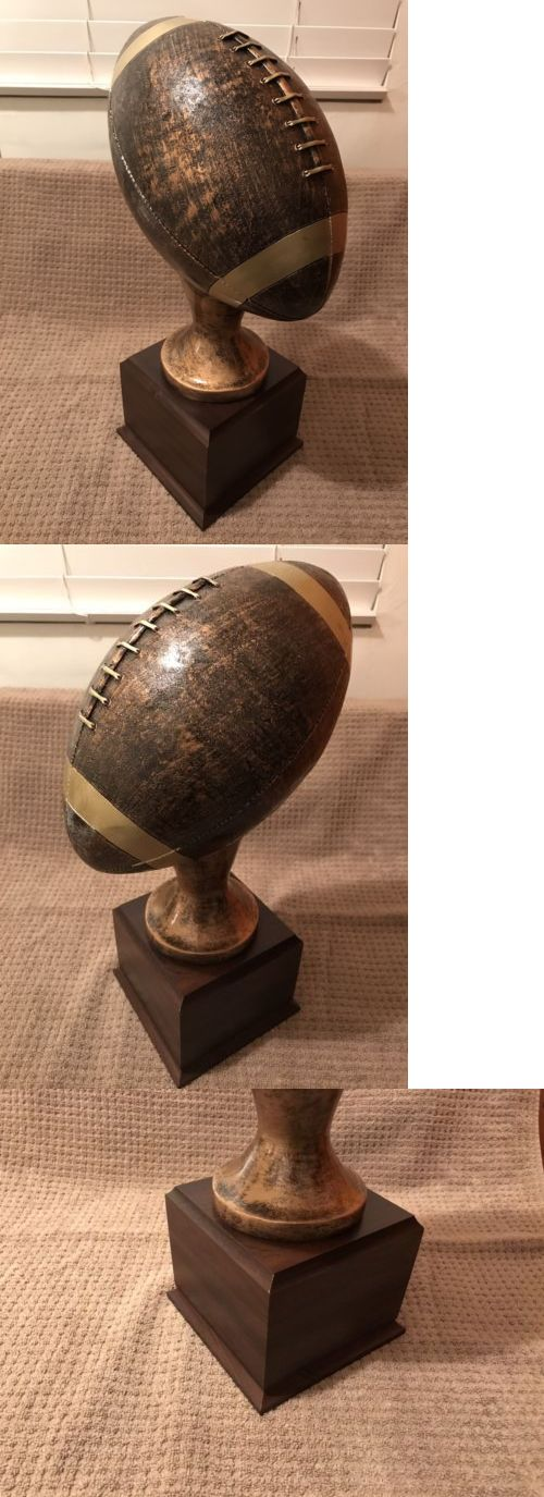 Other Football 2024: New Fantasy Football Trophy 16 In. Tall Ships In 1 Day!! -> BUY IT NOW ONLY: $59.99 on eBay!