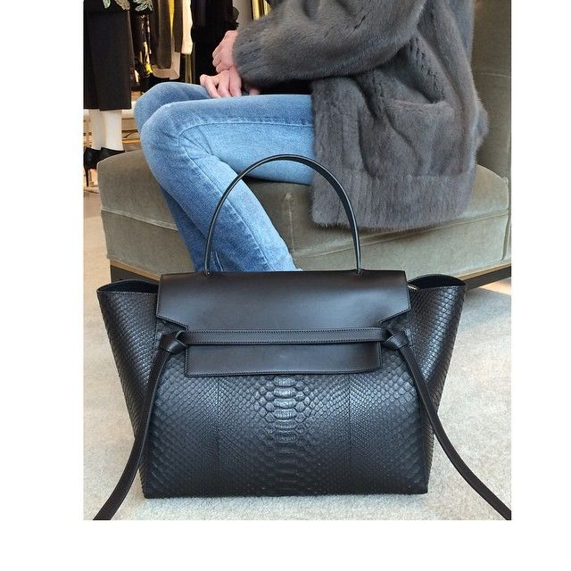 celine black synthetic clutch bag