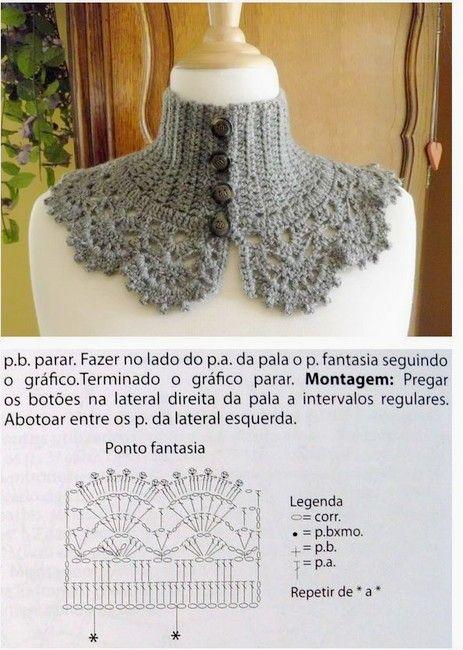 crochet bufandas-tour de cou (15)