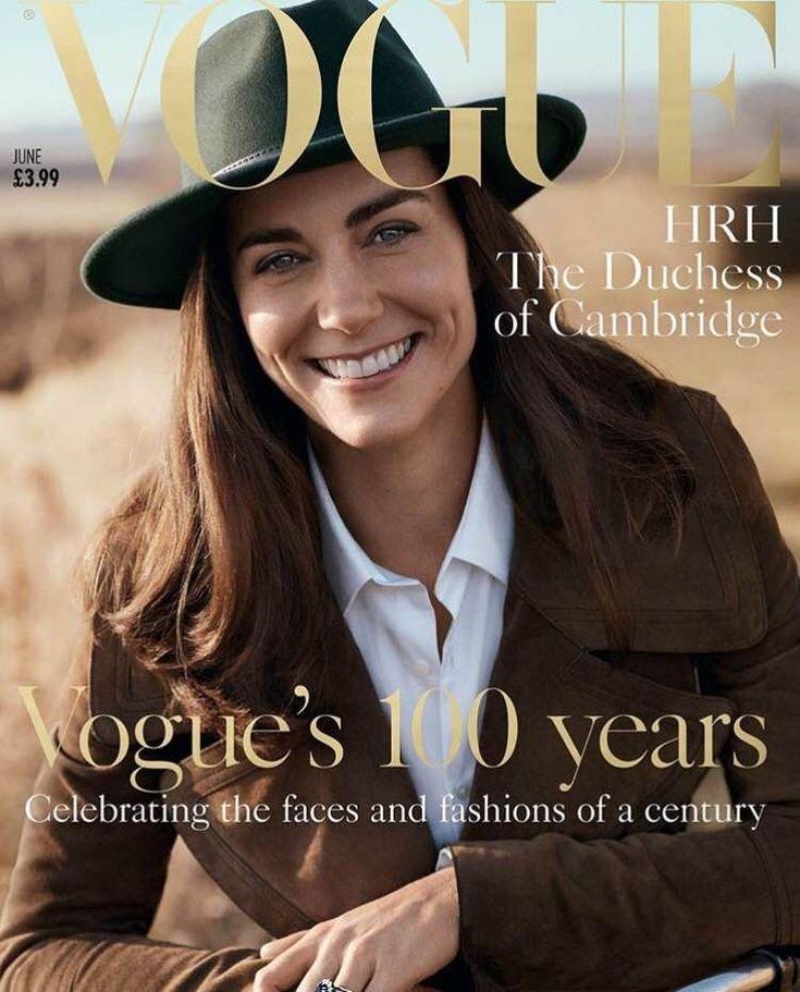 Kate Middleton é capa de Vogue pela primeira vez
