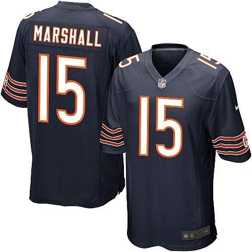 Chicago Bears 15 Brandon Marshall Elite Team Color Jersey
