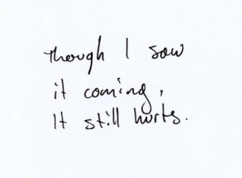 it always will.