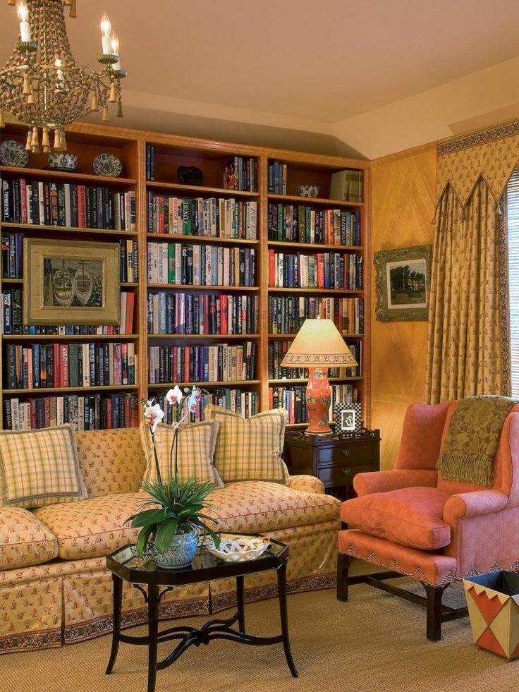 10 Home Library Designs to Draw Inspiration