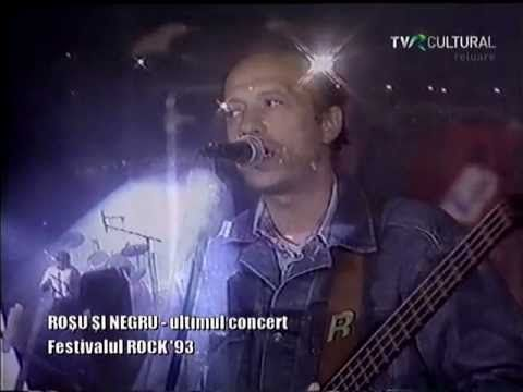 ROSU si NEGRU - Ultimul concert (1993) - YouTube
