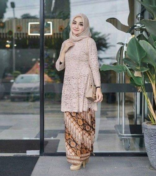 Model Kebaya Brokat Lengan Panjang 3 Indy Kebaya Baju Muslim