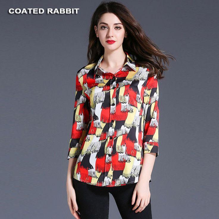 female blouse shirt Casual Printed shirt 2017 Summer Autumn cool long sleeve blouse women tops blusas #Affiliate
