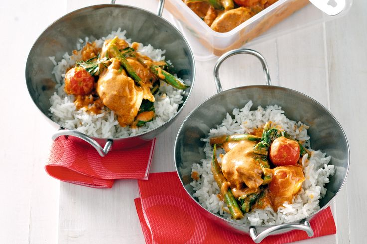 Reduced-fat butter chicken, April 3, 2013 http://www.taste.com.au/recipes/31479/reduced+fat+butter+chicken
