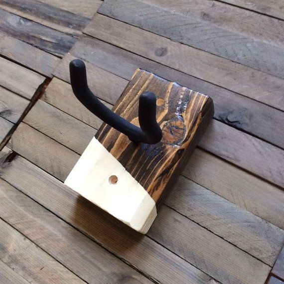 guitar wall mount handpainted guitar hanger with walnut on wall hanger id=45201