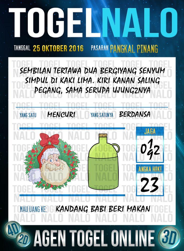 Tafsir Syair Togel Wap Online Live Draw 4D TogelNalo Pangkal Pinang 25 Oktober 2016