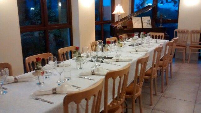 Evening Buffet Service, Orangery