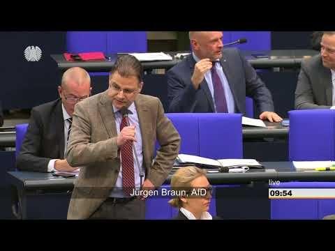 Jürgen Braun (AFD) sagt Katrin Göring Eckardt mal richtig die Meinung! - YouTube