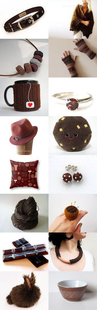 Chocolate by Patricia Stockebrand on Etsy--Pinned with TreasuryPin.com