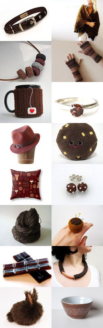 Chocolate by Patricia Stockebrand on Etsy--Pinned with TreasuryPin.com