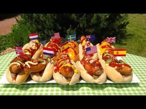 NEJCHUTNĚJŠÍ AMERICKÉ HOT DOGY RECEPT:ORIGINÁL,SÝROVÉ,MEXICKÉ. NÁVOD JAK VYDEKOROVAT ZAHRADNÍ PÁRTY - YouTube