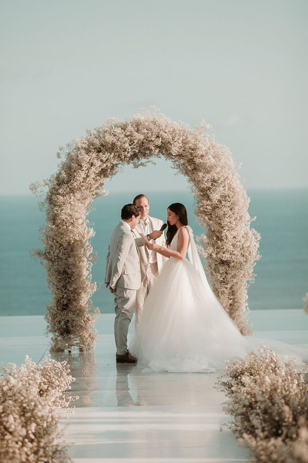 cc2b14792066 Official Wedding Photos are Out! Martine Cajucom-Ho Talks About the ...