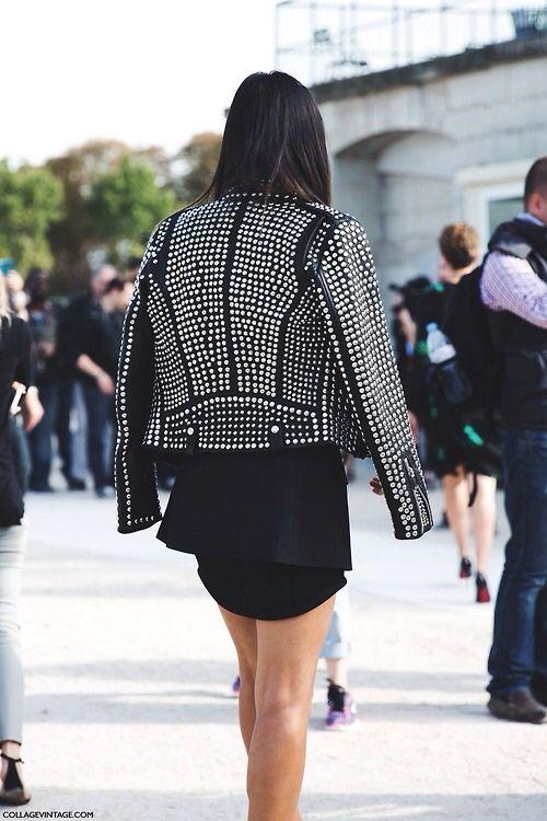 Rock 'n' Roll Style ✯ Paris Fashion Week SS15