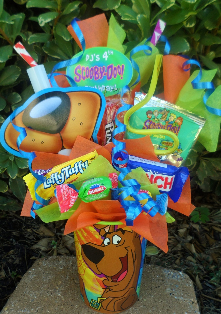 Scooby Doo Kids Party Favor Made to Order. $4.75, via Etsy.